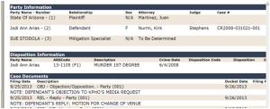 Jodi Arias defense objections